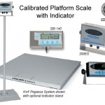 Pegasus platform scale with indicator