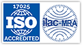 ISO 17025 ilac-MRA accredited